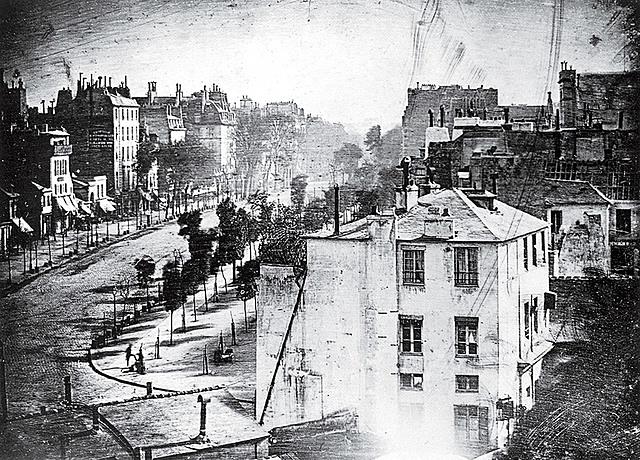 """View of the Boulevard du Temple"""