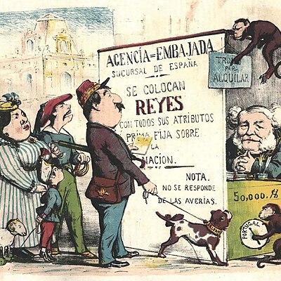 Tema 2. REVOLUCIÓN LIBERAL EN EL REINADO DE ISABEL II.  Tema 3. PROCESO DE DESAMORTIZACIÓN Y CAMBIOS AGRARIOS.  TEMA 4. EL SEXENIO REVOLUCIONARIO (1868-1874): INTENTOS DEMOCRATIZADORES. timeline