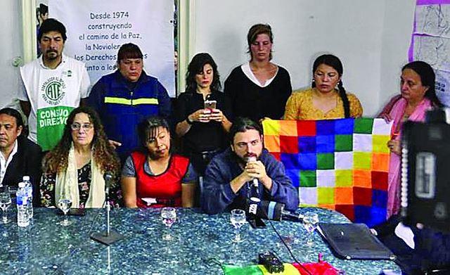 Agreden a activistas argentinos que llegan para hacer un informe