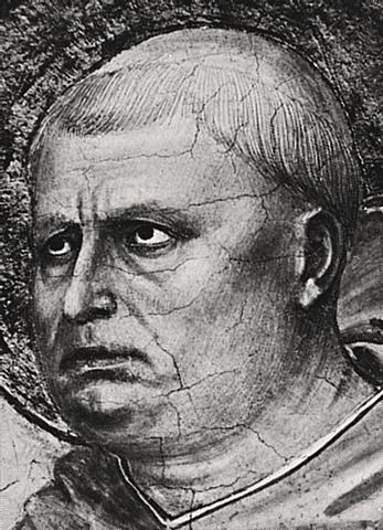 Filosofen Thomas Aquinas