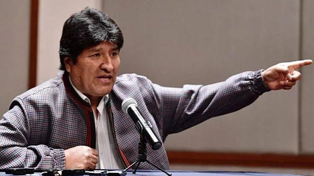 """Evo responsabiliza a la OEA de cometer fraude y ser """"cómplice"""" de un Golpe de Estado"""