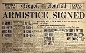 Armistice Signed