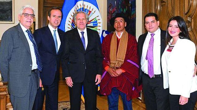 Gobierno denuncia a Evo ante la OEA y acuerda una pesquisa con la CIDH