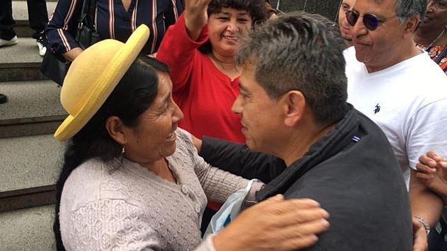 Mario Cossío ya se encuentra en Tarija y dejó de ser rebelde ante la justicia