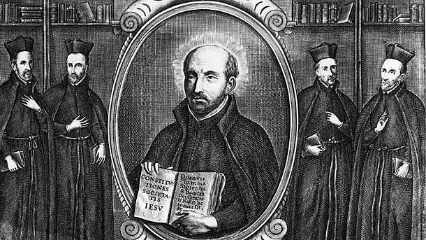 Jesuittene (en type munker) godkjennes av paven.