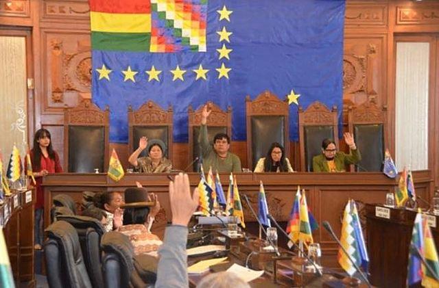 Senado envía al TCP ley de ampliación de mandato