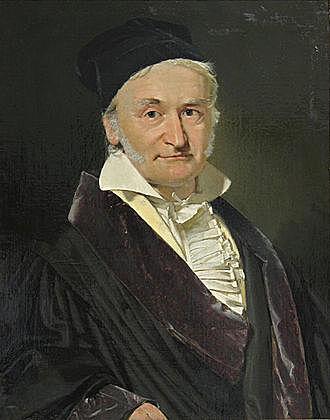 Johann Karl Friedrich Gauss 30/04/1777 - 23/02/1855