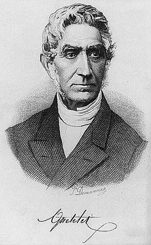 Jacques Quetelet 22/02/1796 - 17/02/1874