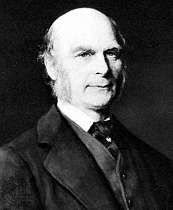 Francis Galton 16/02/1822 - 17/01/1911