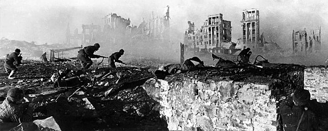 Bitka za Stalingrad(Nemčija in Sovjetska zveza)-zmaga Sovjetske zveze