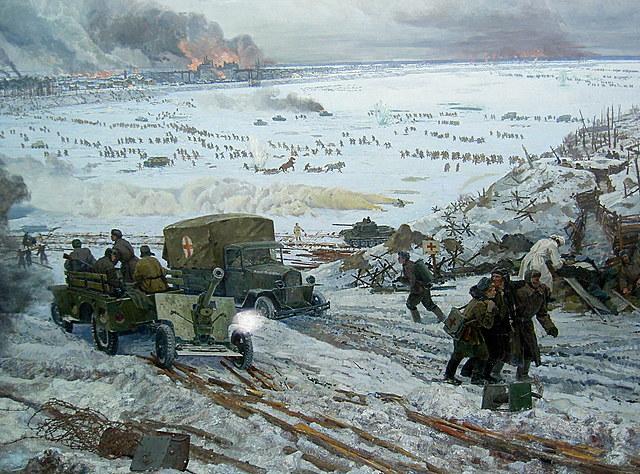 Bitka za Leningrad