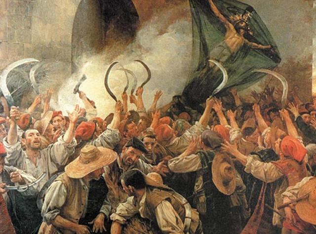 El trencament amb la monarquia hispànica