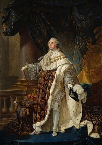 Coronación del Rey Luis XVI