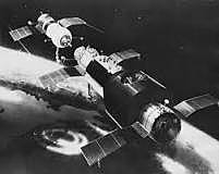 The first space station is launched