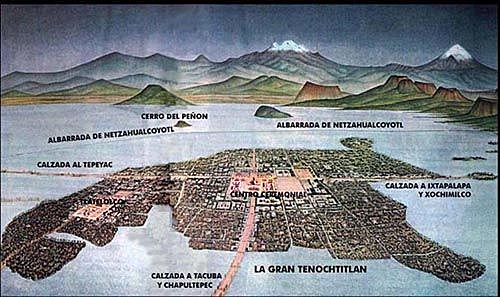 Mexico-Tenochtitlan is founded