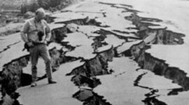 Earthquakes and Volcanic Eruptions timeline