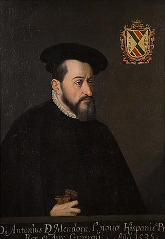 First viceroy Antonio de Mendoza