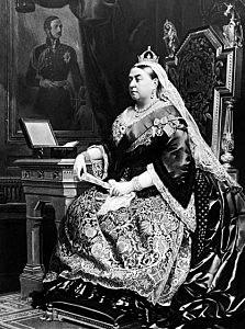 Victoria toma el trono