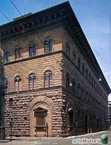 el palacio de unos mecenas : los medici