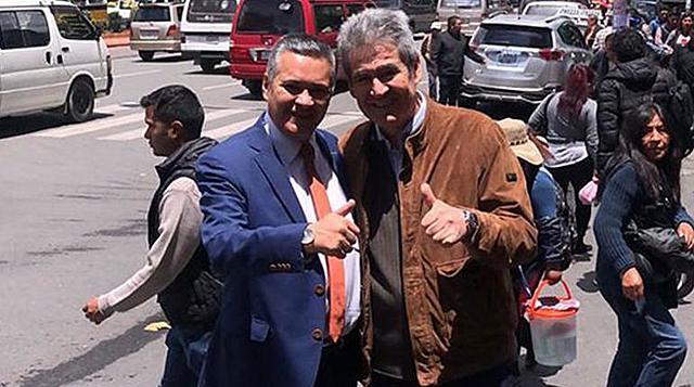 """Tras 10 años, """"Pepe Lucho"""" Paredes regresa a Bolivia"""