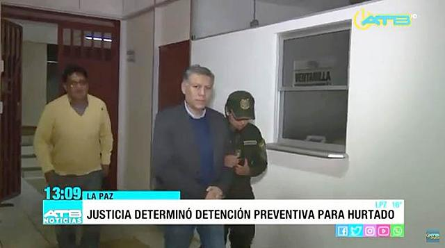 Determinan detención preventiva para el presidente del directorio de la Red ATB