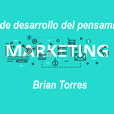 Etapas de desarrollo del pensamiento de marketing timeline