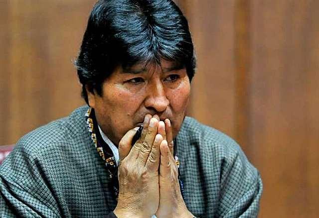Con el nuevo proyecto de Ley de Garantías el MAS quiere garantizar que Evo no sea aprehendido cuando retorne a Bolivia