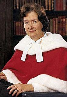 Nomination de Bertha Wilson
