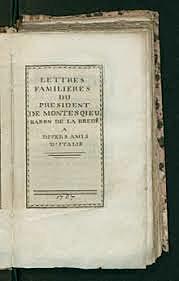 Montesquieu: Legeen izpiritua