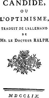 Voltaire: Kandido