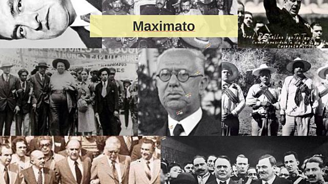 Maximato (1928 - 1934)