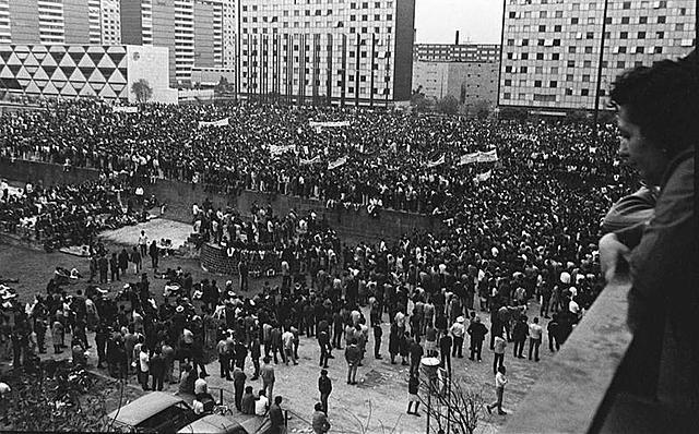La matanza del Tlatelolco (1968)