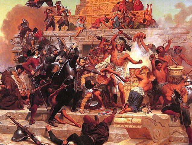 Massacre of the Templo Mayor