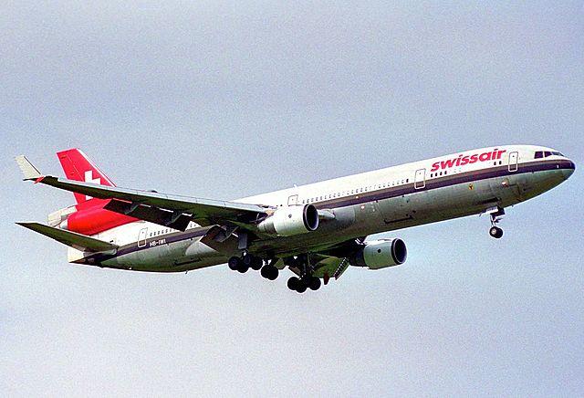 Écrasement de l'avion Swissair MD-11