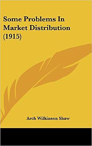 """Shaw publica """"Algunos problemas de la distribución"""""""