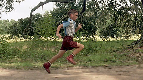 Forrest Runs For the First Time