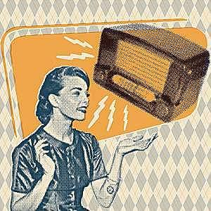 Comienza la publicidad radiofónica