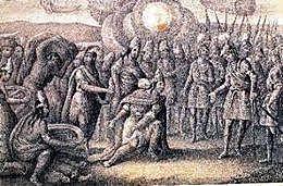 The battle of Calacoaya