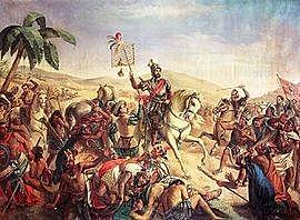 The battle of Centla