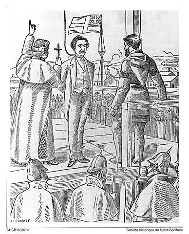 Exécution de Louis Riel