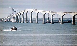 Inauguration du pont de la Confédération