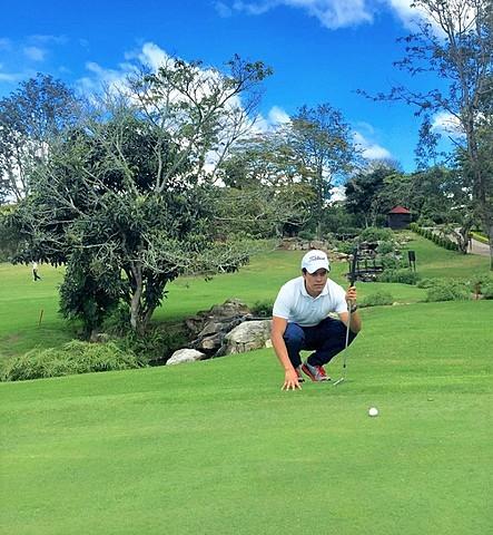 Mi primer campeonato de golf