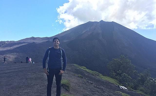 Subí mi primer volcán