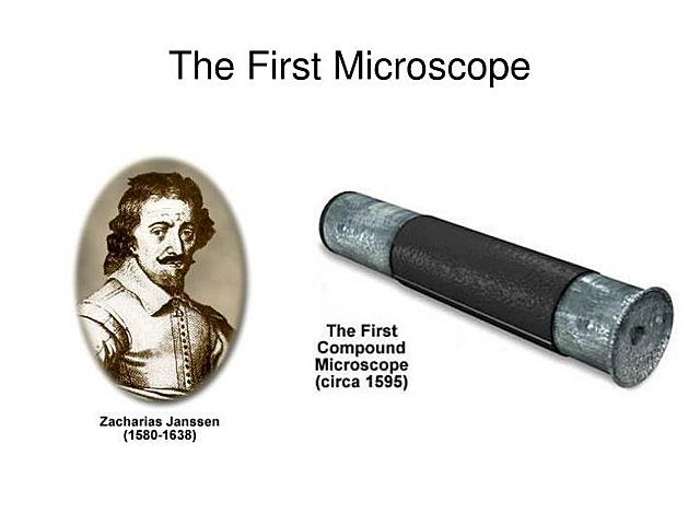 Zacharias Janssen's microscope