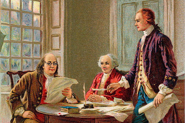 Jefferson Writes the DOI