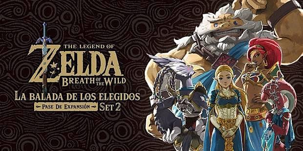 The Legend of Zelda : Breath of the Wild La balaad de los elegiso