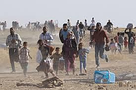 Beginning of Syrian mass influx