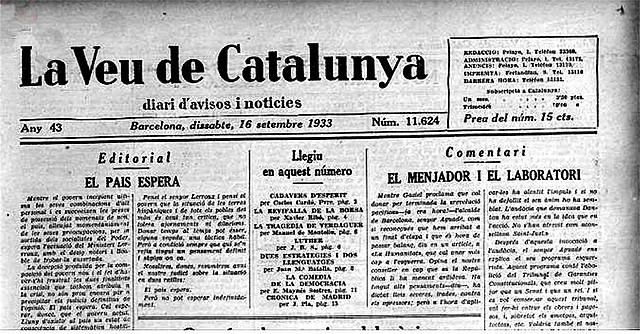 Creació La veu de Catalunya