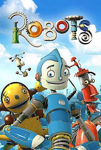 """Margot Morandet - Recyclage / Chris Wedge et Carlos Saldanha: """"Robots"""" (long métrage d'animation sorti sur les écrans en 2005)"""