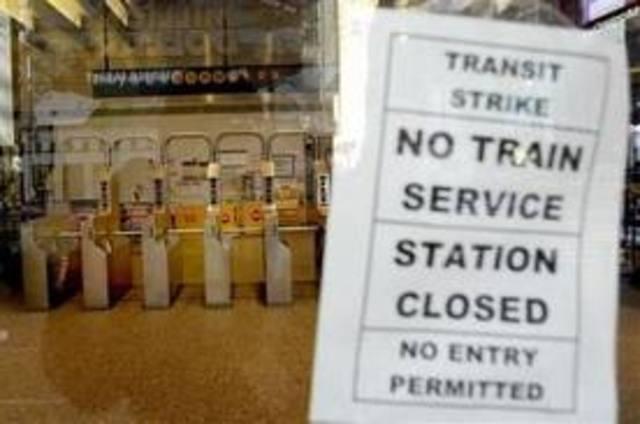 NYC Transit Strike